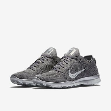 nike free tr 5 flyknit metallic women's training shoe
