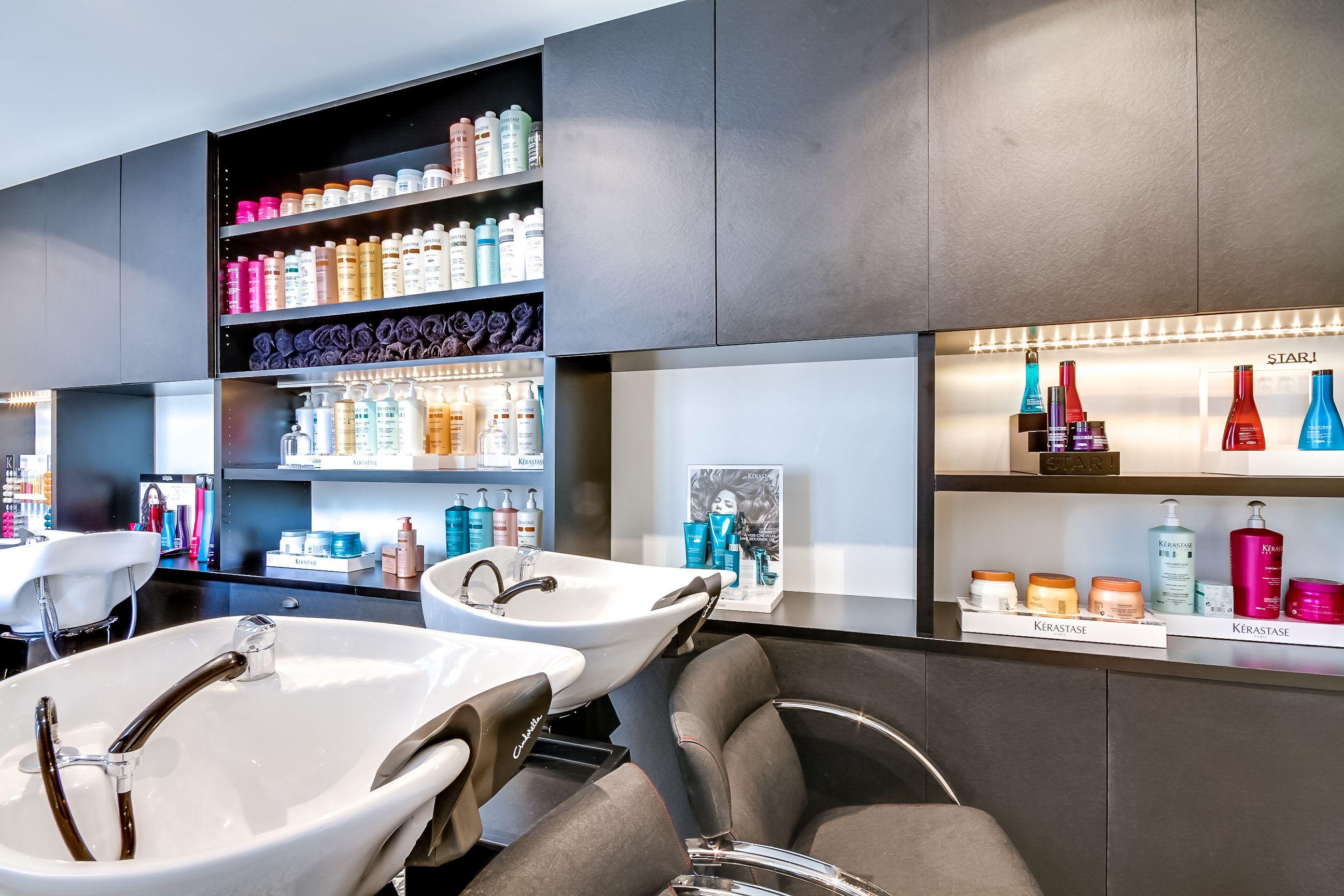 R novation totale salon de coiffure paris for Salon de coiffure sur paris