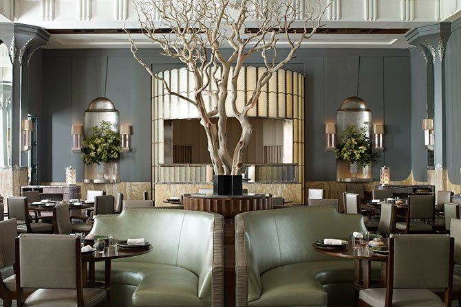 Guy Oliver Tells <i>AD</i> About His Design for Claridge's Restaurant