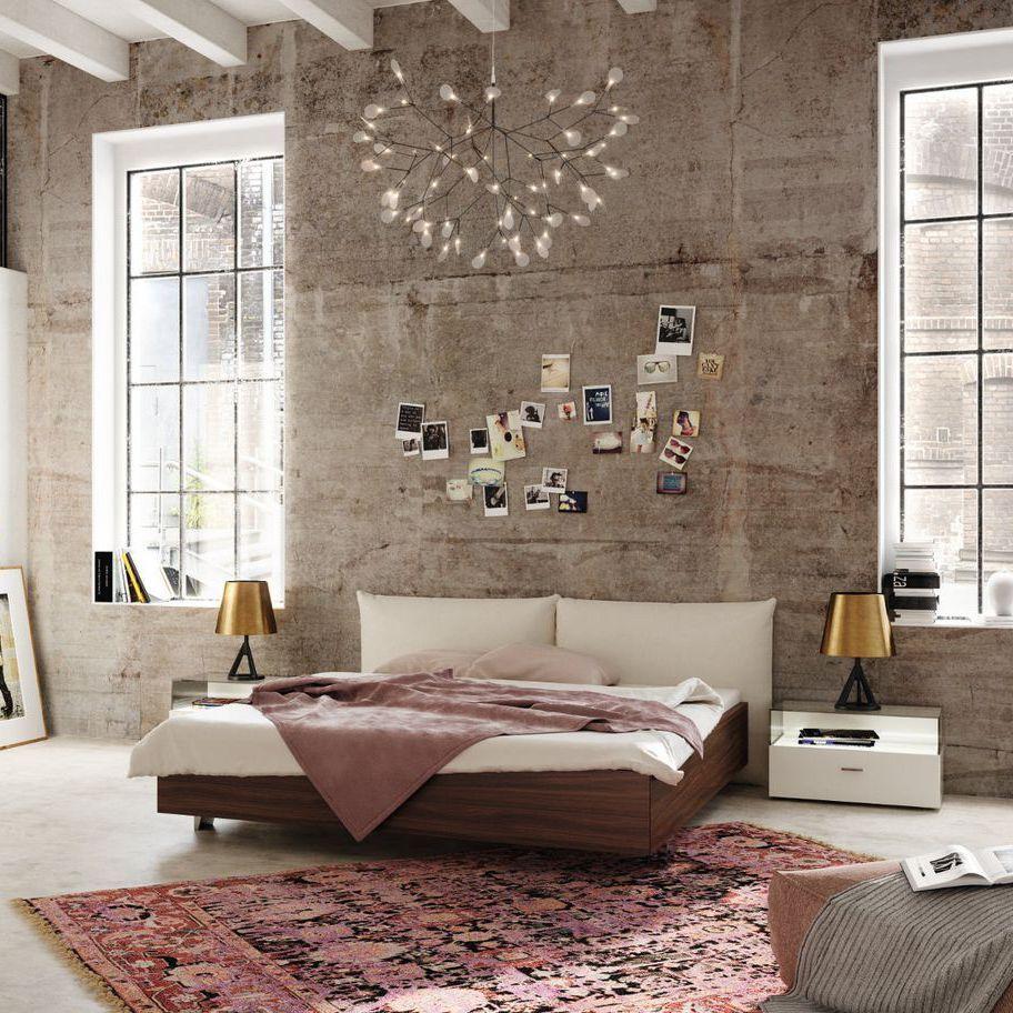Doppel-Bett / Standard / modern / Nussbaum NOW! NO.14 : 326 NOW! By ...