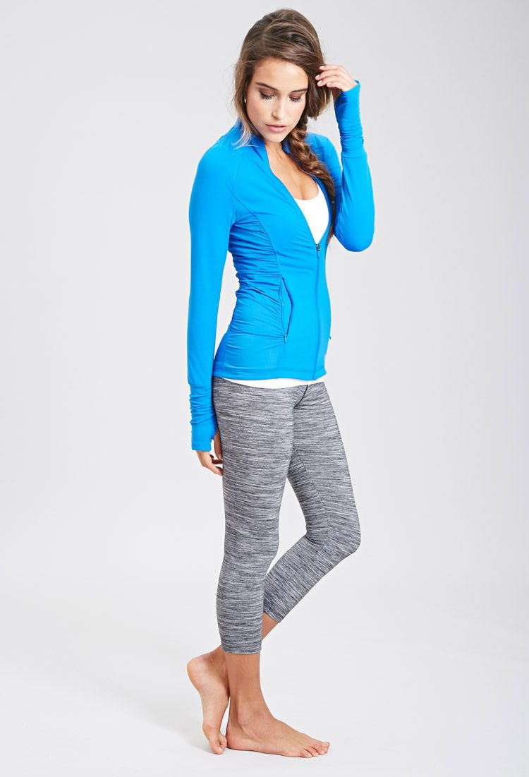 Athletic Track Jacket | FOREVER21 - 2000136982 | sporty ...