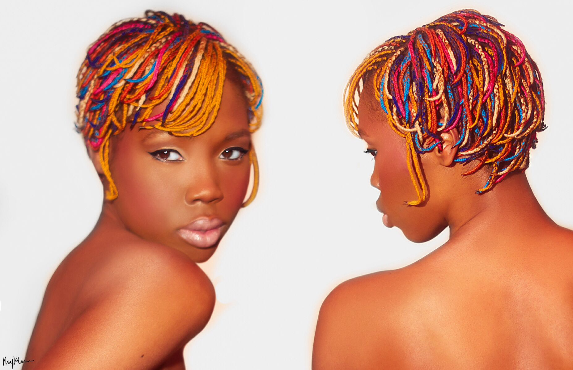 Image result for Debra Hare-Bey Braids