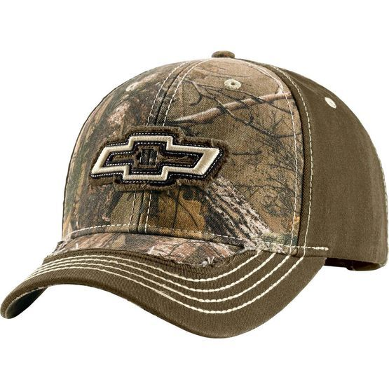 Chevrolet Chevy Silverado Brown Cotton Canvas Embroidered Hat Licensed