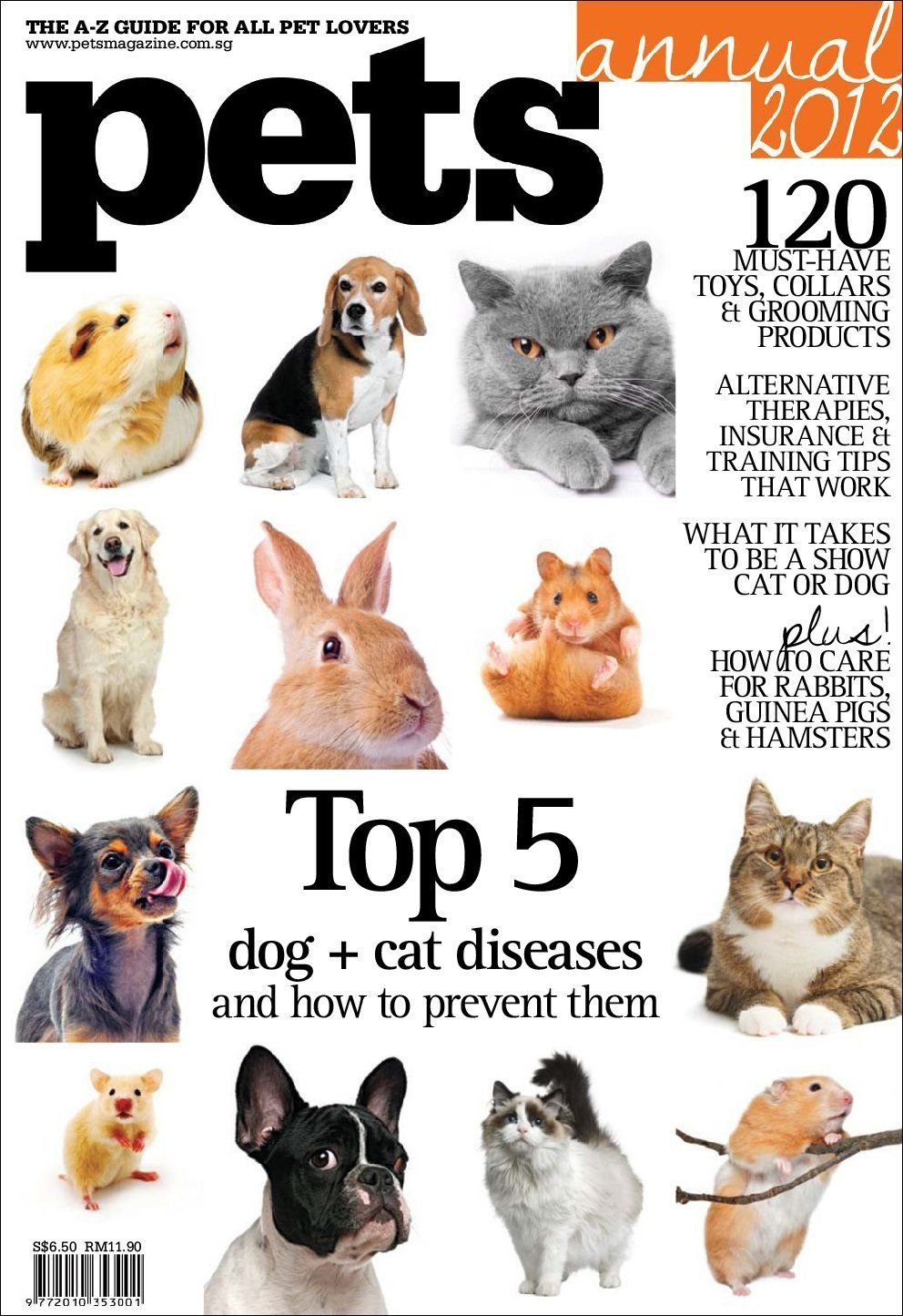 Pets Magazine Annual 2012 Magazine Subscription (Digital