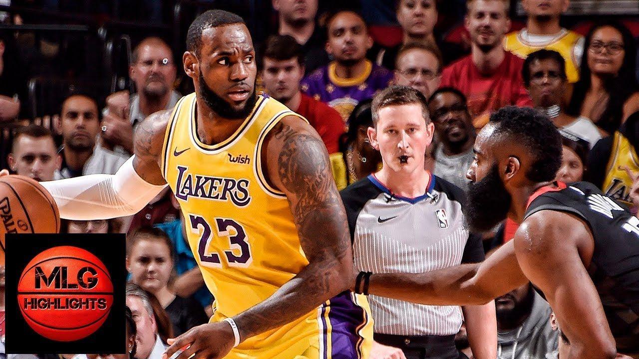 Los Angeles Lakers Vs Houston Rockets Full Game Highlights 12 13 2018 Lakers Vs Houston Rockets Los Angeles Lakers