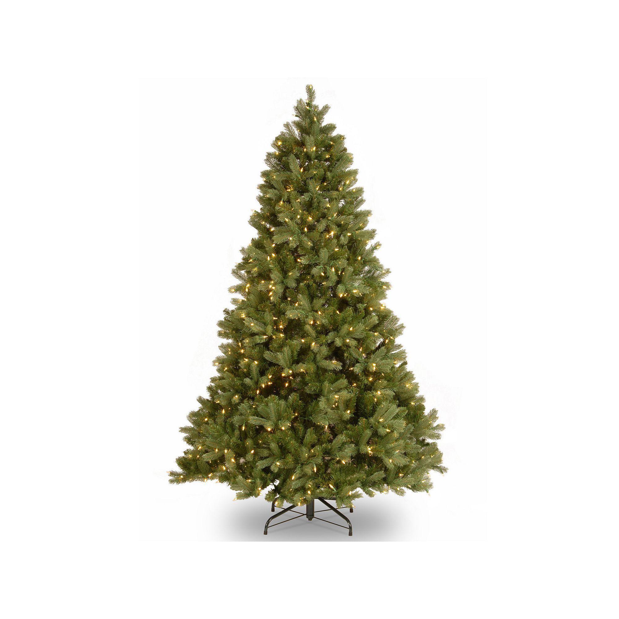 9d8082c33ee0f National Tree Company 7.5-ft. Douglas Fir Hinged Pre-Lit Artificial  Christmas Tree