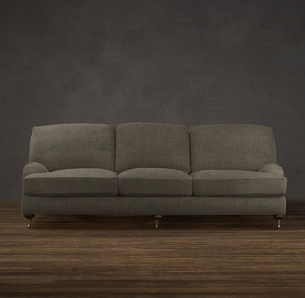84 Quot English Roll Arm Upholstered Sofa Sofas