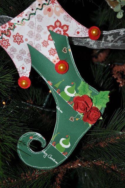 El caj n del scrap ideas para hacer tus propios adornos for Decoracion christmas navidenos