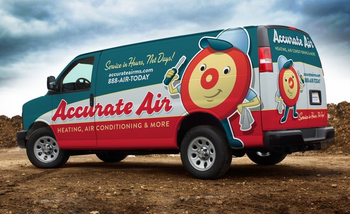 Accurate Air Kickcharge Creative Branding Wraps Wrap