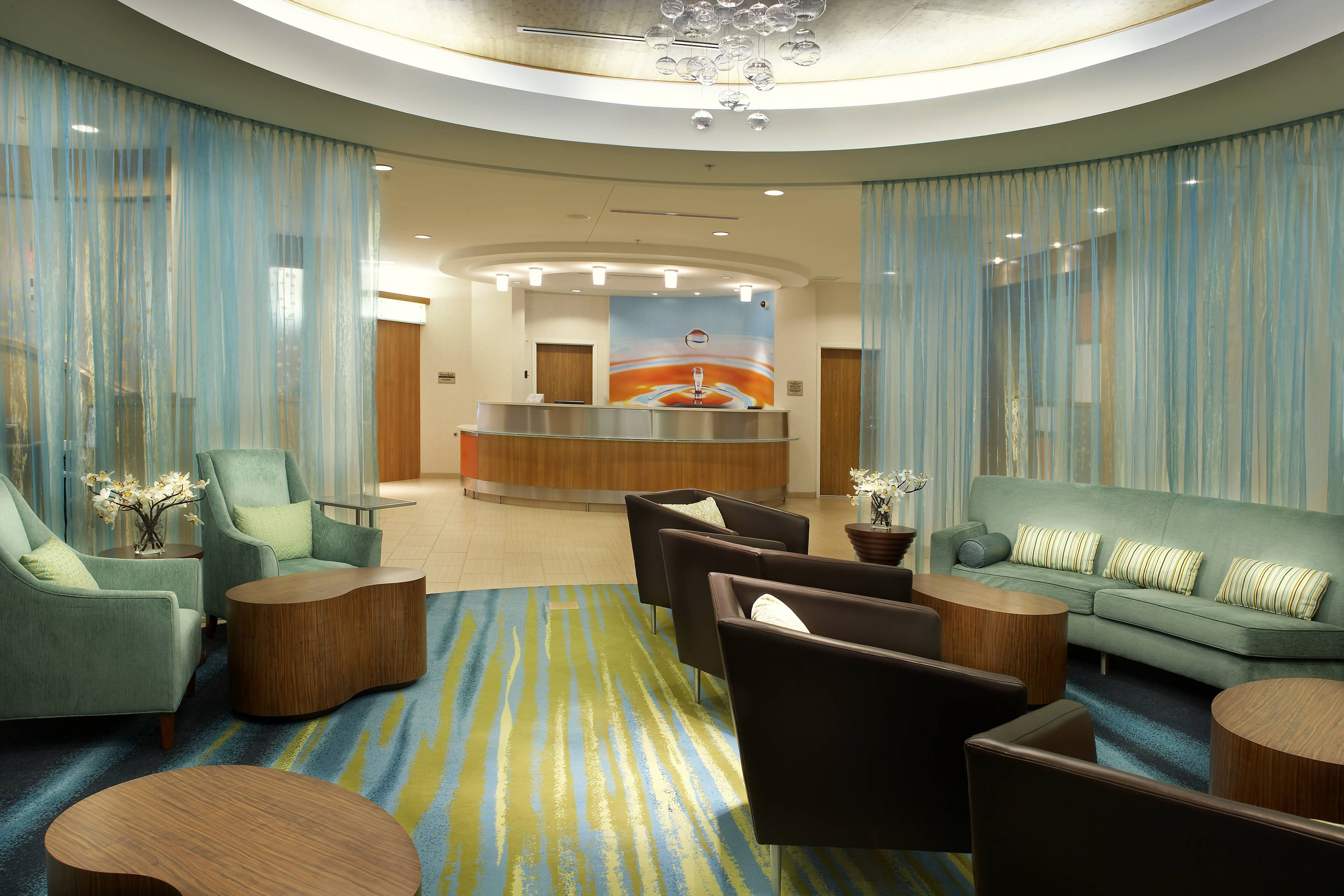 Springhill Suites Houston Nasa Webster Lobby Lounge Hotels