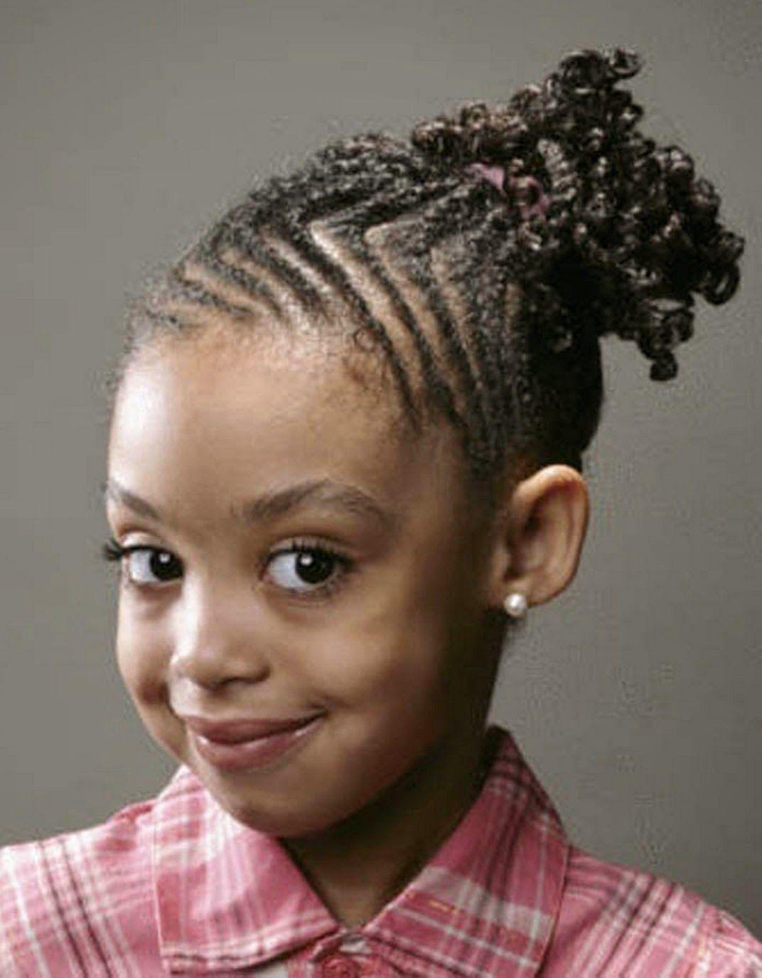 Excellent Kid Hairstyles Black Kids Hairstyles And Black Kids On Pinterest Hairstyles For Men Maxibearus