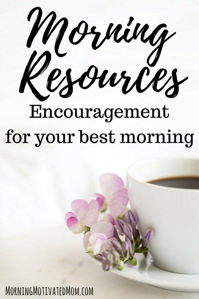 Morning Manual Resources Work