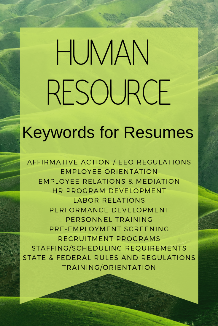 Resume Keywords Key Phrases Which Ones Should You Be Using Business Continuity Planning Resume Leadership Development