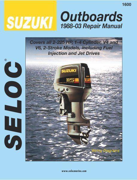 Suzuki Outboard 1988 2003 2 Stroke Service Repair Manuals