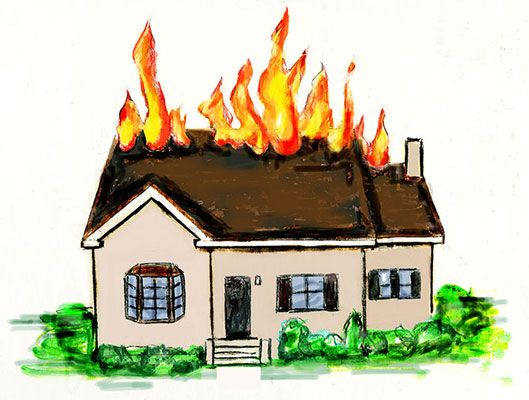 Safety Tips For Fire Evacuations With Images House Fire Home