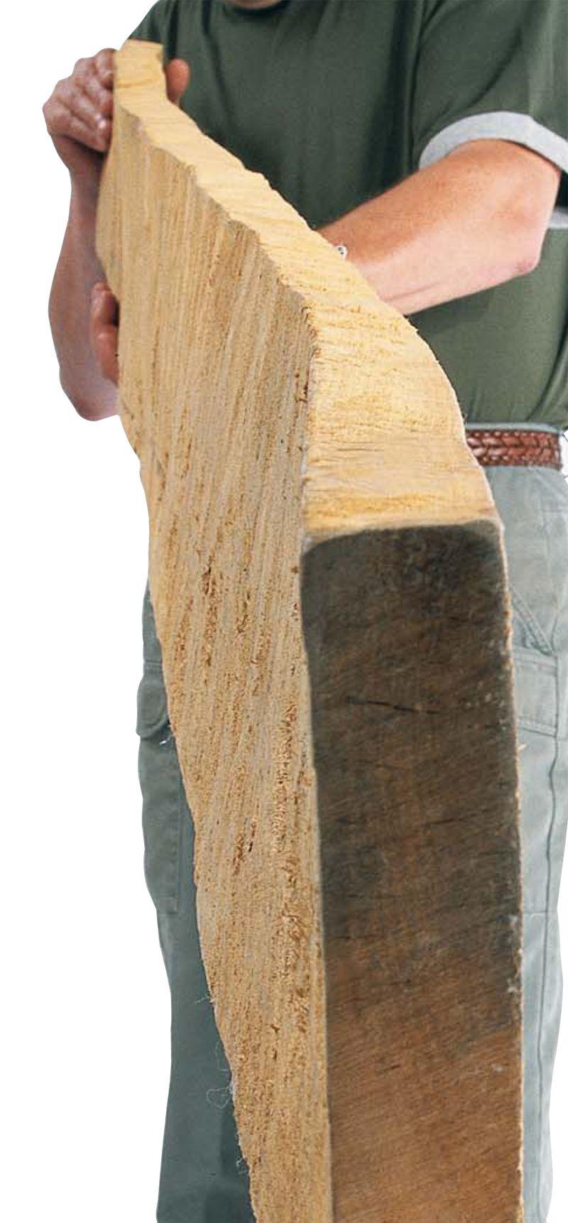 how to dress rough cut lumber