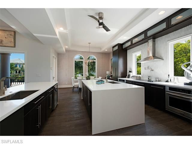 225 Conners Ave, Naples, FL 34108 | Gorgeous contemporary kitchen in ...