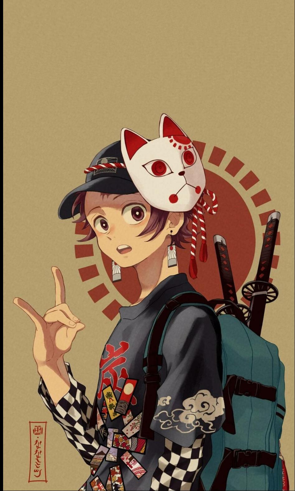 My boy from kimetsu no yaiba ( demon slayer)