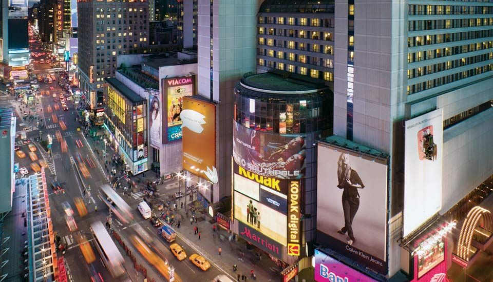 Marriott Marquis In Times Square Nyc Best Spot To Stay Be The Middle