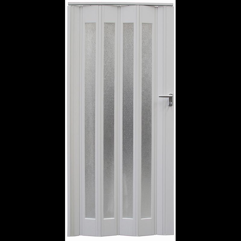 Pillar Products 85 X 203cm White Platinum Pvc Concertina Door Concertina Doors Doors Home Office Closet