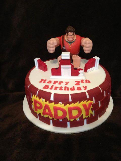 Wreck It Ralph Birthday Cake Google Search Cakes Pinterest
