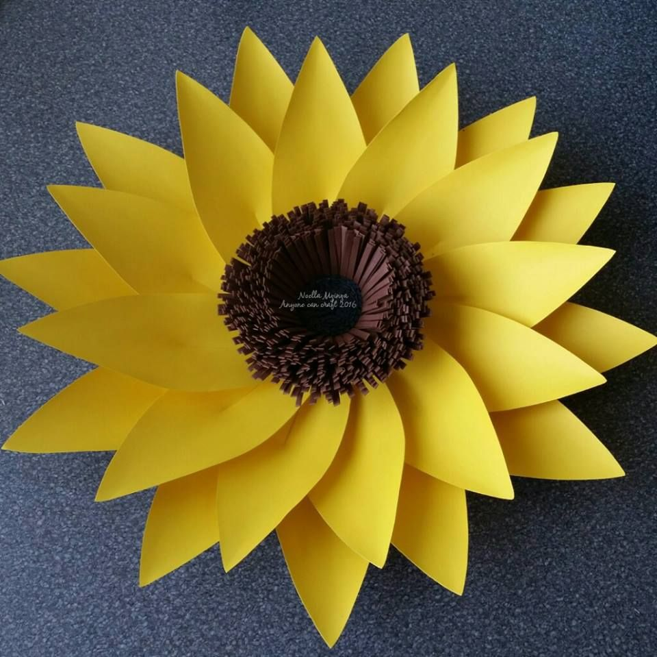 Large Flower Petals  Template Flower and Diy flowers