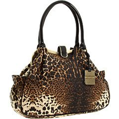 jessica simpson leopard cheetah animal print couture satchel retail 108.00!!   price 79.99 12.95 shipping