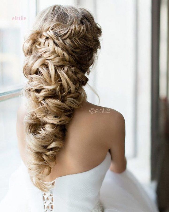 Half Braided Hairstyle #weddinghair #halfbraid #hairstyle #bridalhair #weddinghairstyles