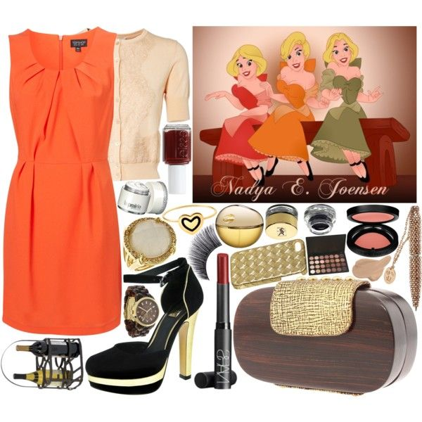 """Disney Challenge: Bar Maid (Beauty & the Beast)"" by irishfleur06 on Polyvore"
