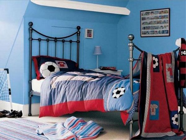 Boys Football Bedroom Ideas interior design decorating ideas: soccer or football theme for