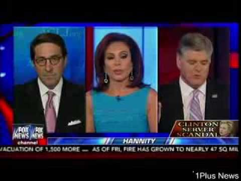 Donald Trump Hammers Hillary Clinton Over Her Ongoing Server Scandal - Hannity | 1Plus News