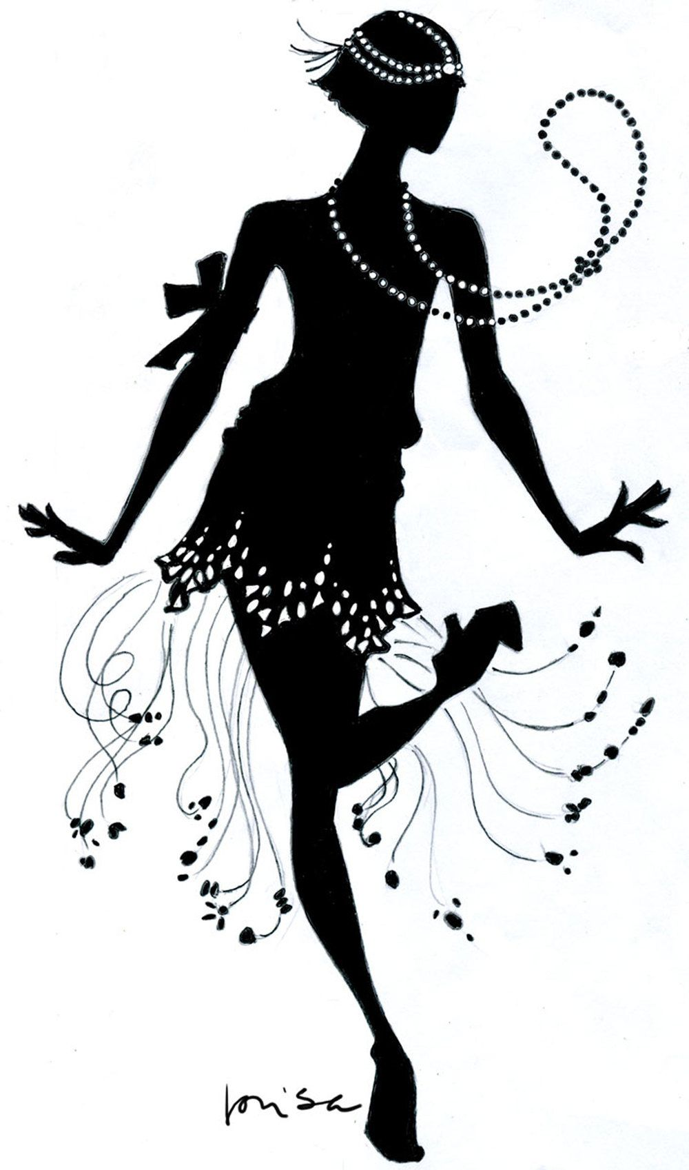 Download Flapper Dance Clipart | clip art | Pinterest | Pictures ...