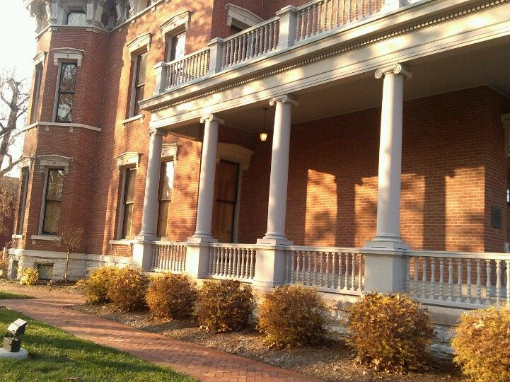 Indy, Benjamin Harrison Home   House styles, Outdoor decor ...  Benjamin Harrison House