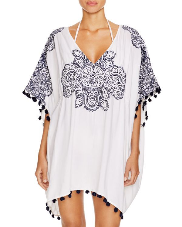 829b690717 Nanette Lepore Henna Caftan Swim Cover Up | All about summertime ...