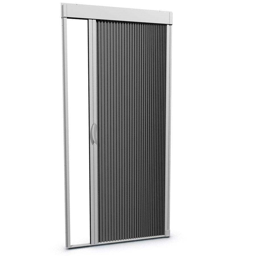 Larson Inspire White Aluminum Frame Retractable Screen Door Common 39 In X 81 In Actual 39 In X 79 In Lowes Com In 2020 Retractable Screen Retractable Screen Door Screen Door