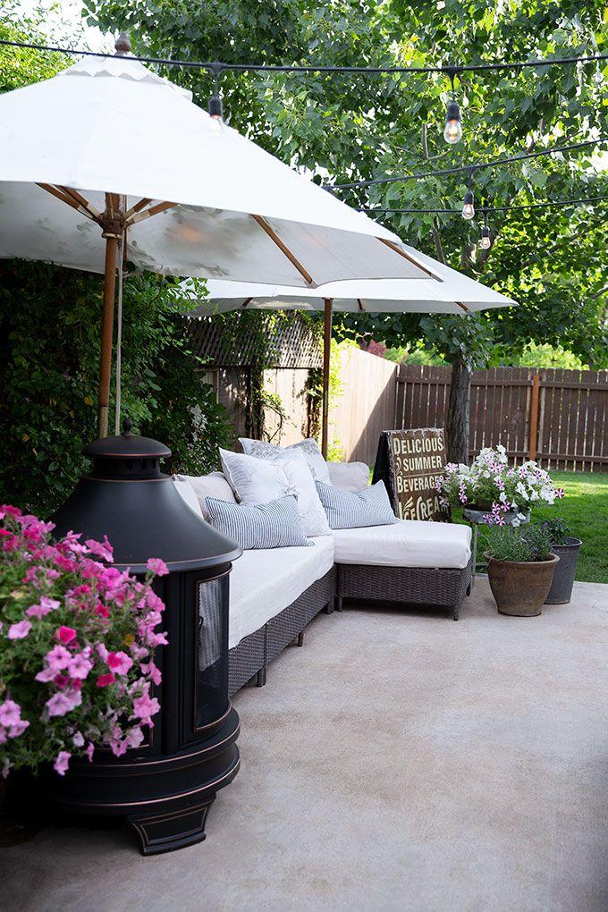 Sweet Summer Backyard, Small backyard, Kid friendly backyard