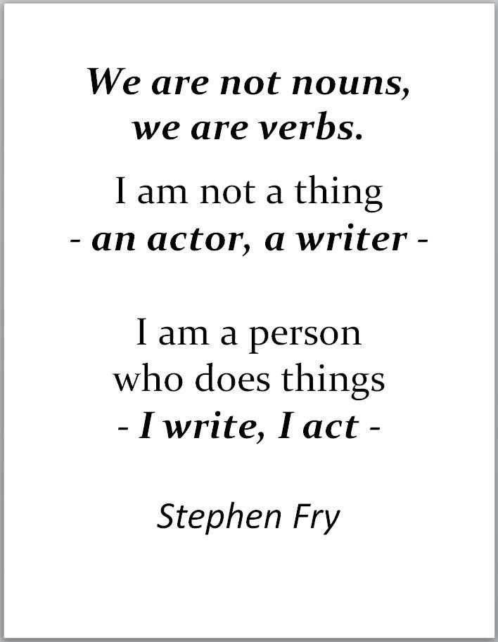 who am i as a writer
