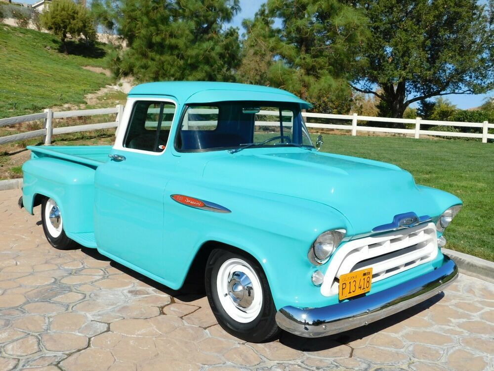 1957 Chevrolet Other Pickups Pickup 1957 Chevrolet