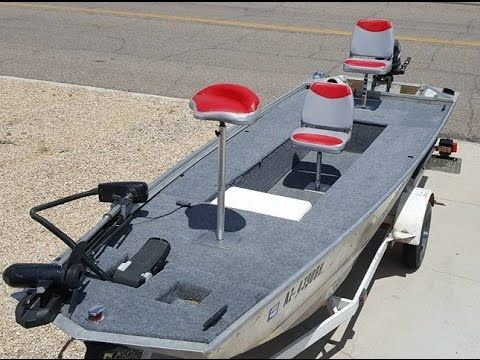 How to restore/rebuild/convert a Jon boat or bass boat - 16 foot
