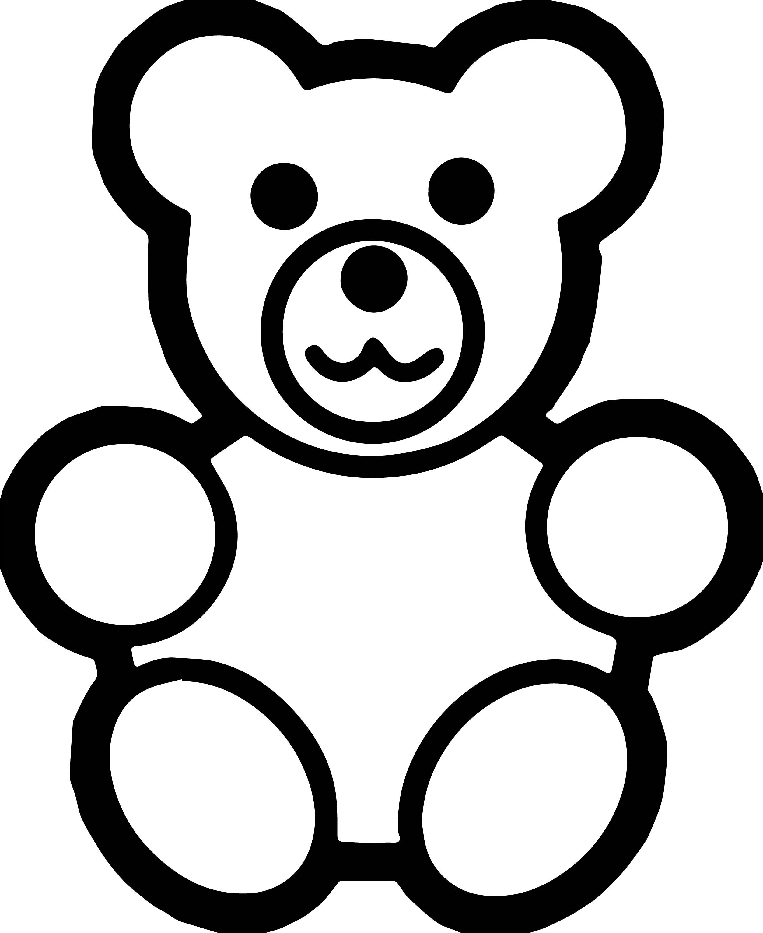 Awesome Read Bear Coloring Page Bear Coloring Pages Teddy Bear Drawing Teddy Bear Outline