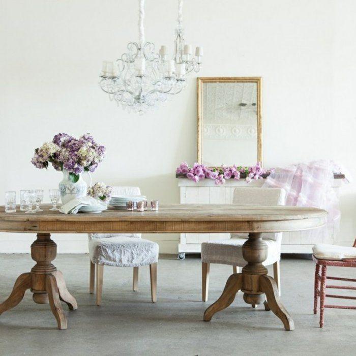 Esszimmermöbel - 30 Ideen für eine finessvolle Shabby Chic-Einrichtung!