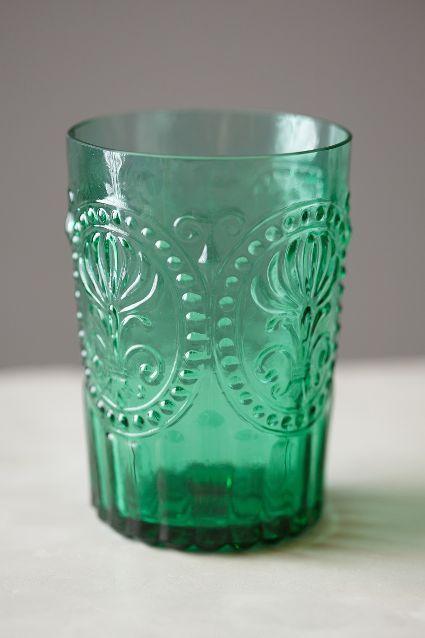 Fleur-De-Lys Juice Glass - anthropologie.com