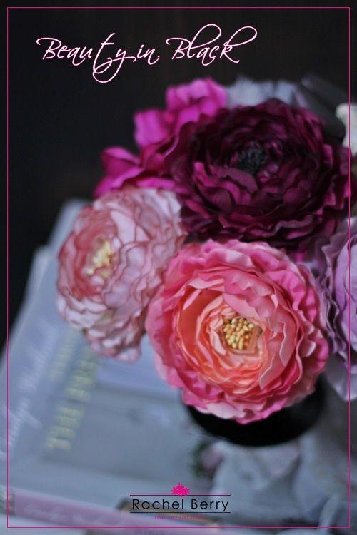 ビューティフルなBeauty in Black |Rachel Berry 東横線・目黒線 横浜 日吉のプリザーブド&アーティフィシャルフラワー教室&オーダー|Ameba (アメーバ)