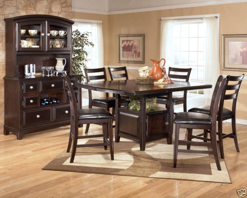 Counter Height Dining Sets Extension Table Room Chairs