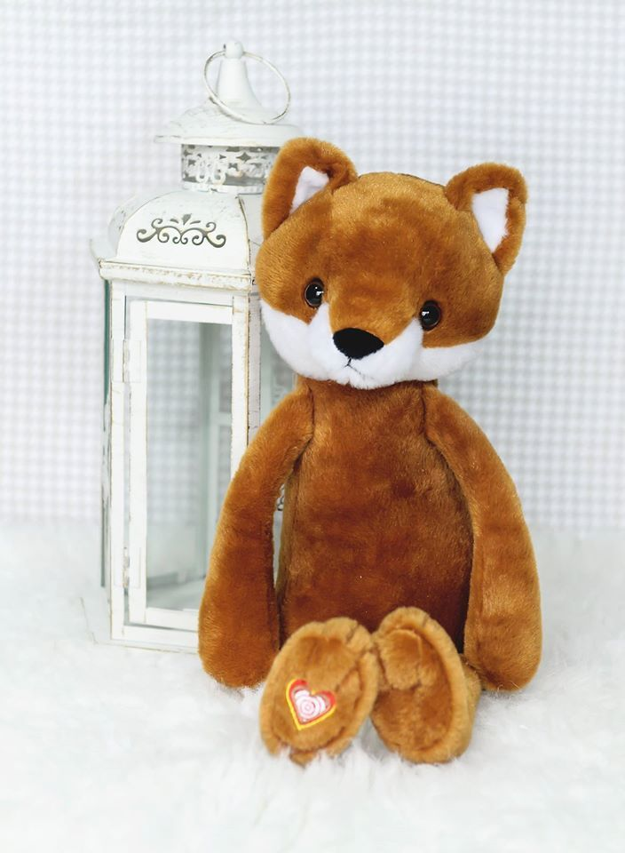 Vintage Fox Heartbeat Animals Cute Stuffed Animals Animals Fox
