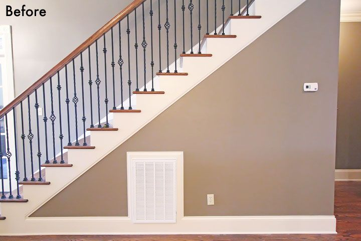 Best Photo Gallery Wall Under The Stairs House Tour 640 x 480