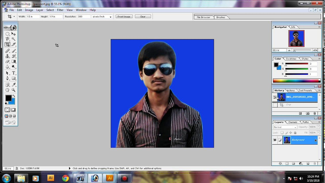 How To Create Passport Size Stemp Size Photo In Adobe Photoshop Adobe Photoshop Tutorial Photoshop Adobe Photoshop
