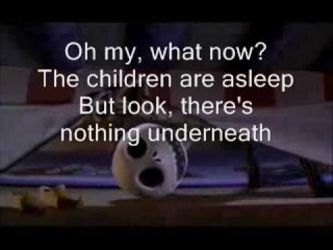 the nightmare before christmas whats this lyrics youtube - Nightmare Before Christmas Whats This