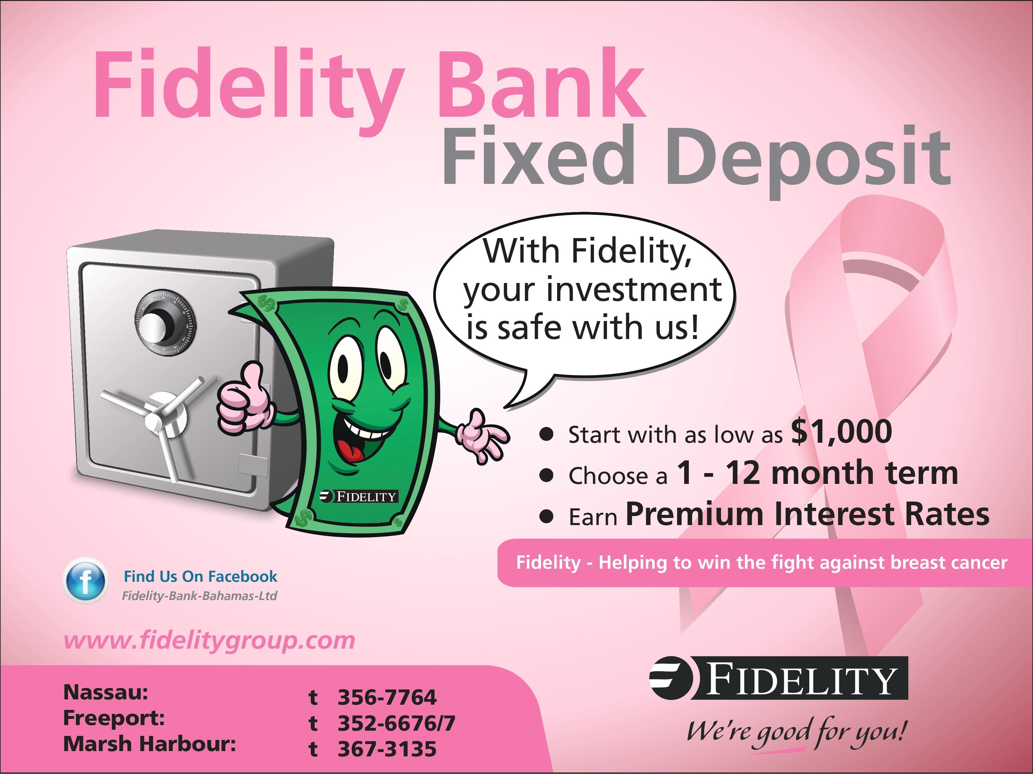 Fidelity bank fixed deposit with fidelity your