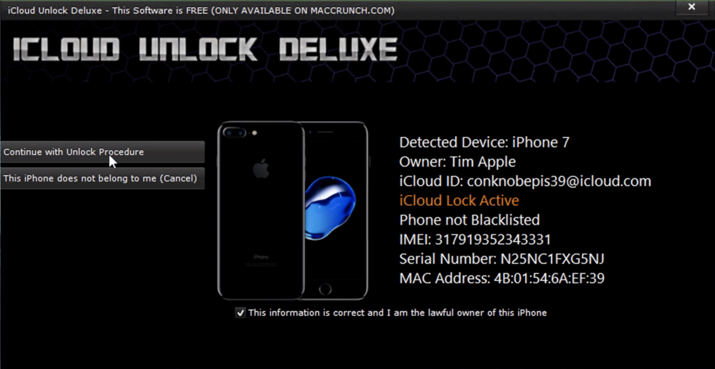 How to Remove iCloud Lock using iCloud Unlock Deluxe
